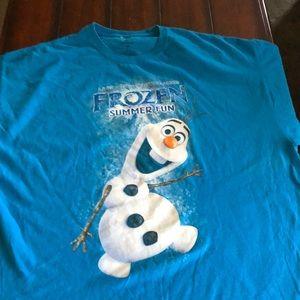 Live at Disney Hollywood Studio Olaf tee shirt